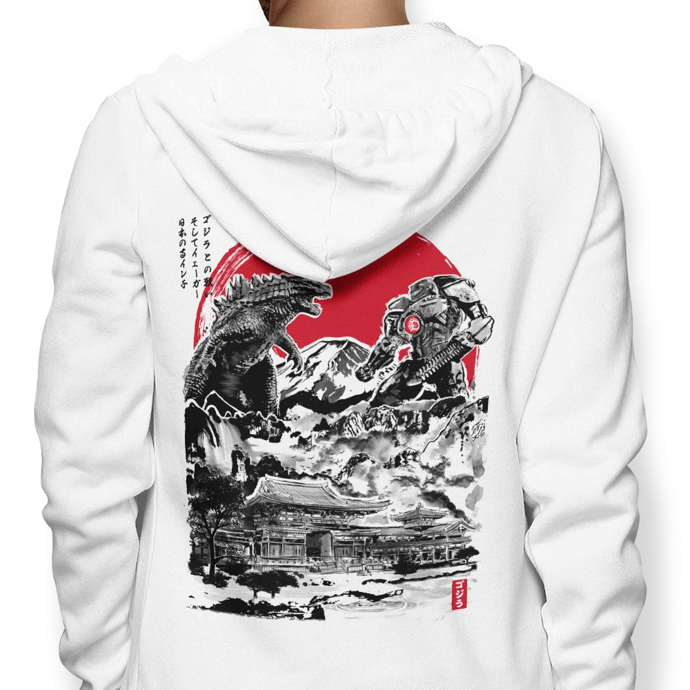 Attack on Japanese Temple - Hoodie