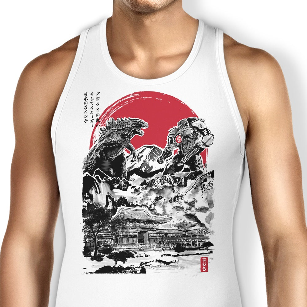Attack on Japanese Temple - Tank Top