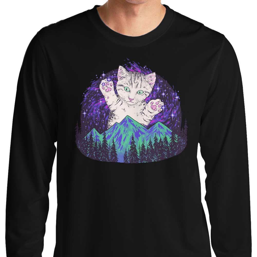 Aurora Meowalis - Long Sleeve T-Shirt
