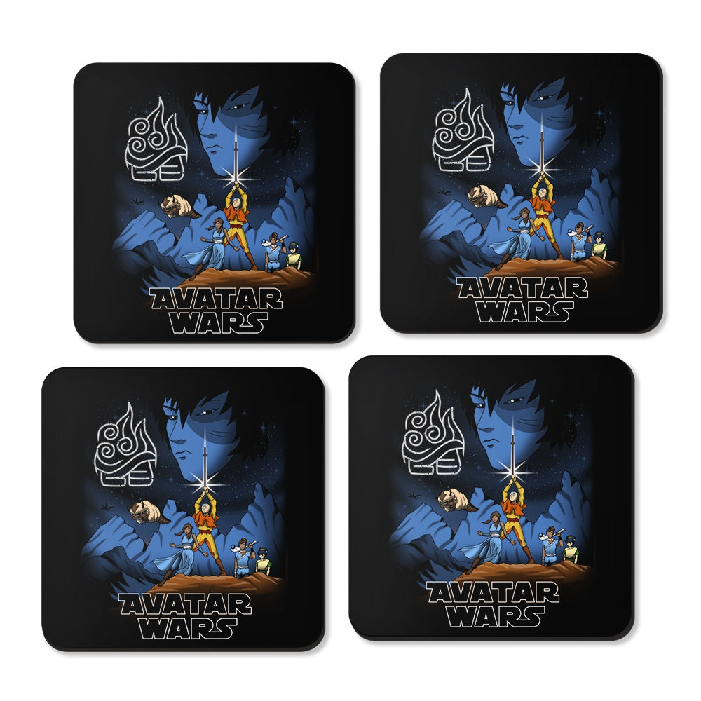 Avatar Wars - Coasters