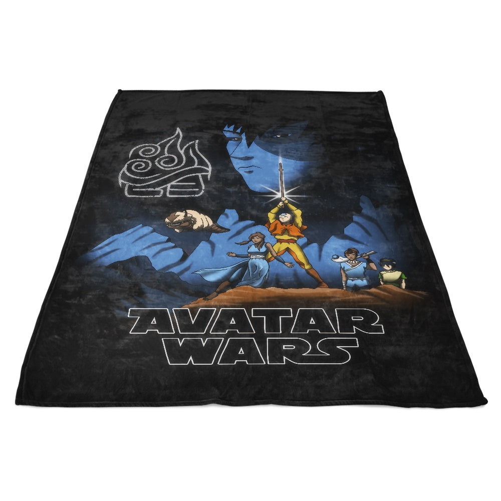 Avatar Wars - Fleece Blanket