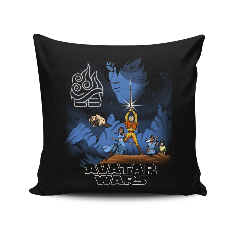Avatar Wars - Throw Pillow
