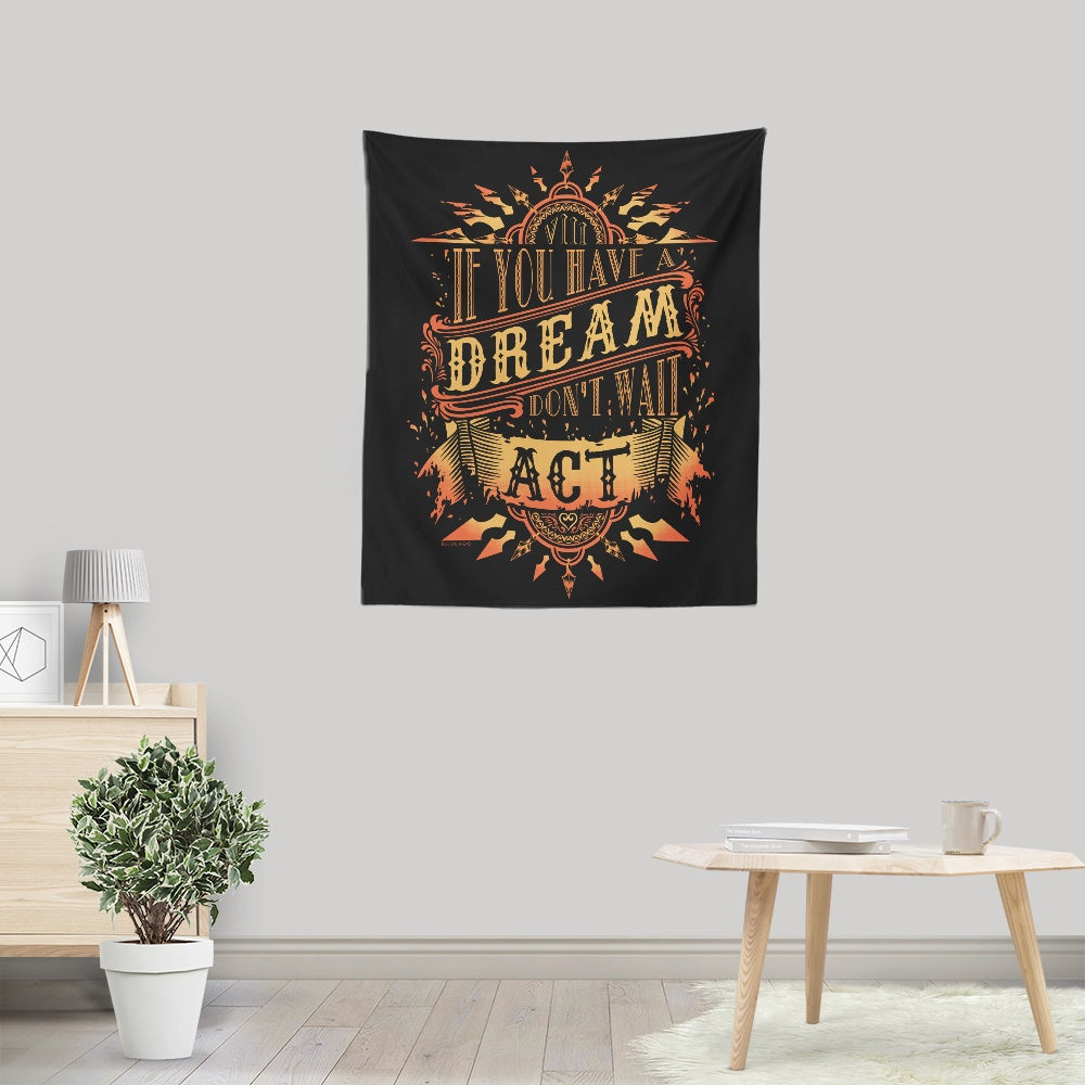 Axel's Dream - Wall Tapestry