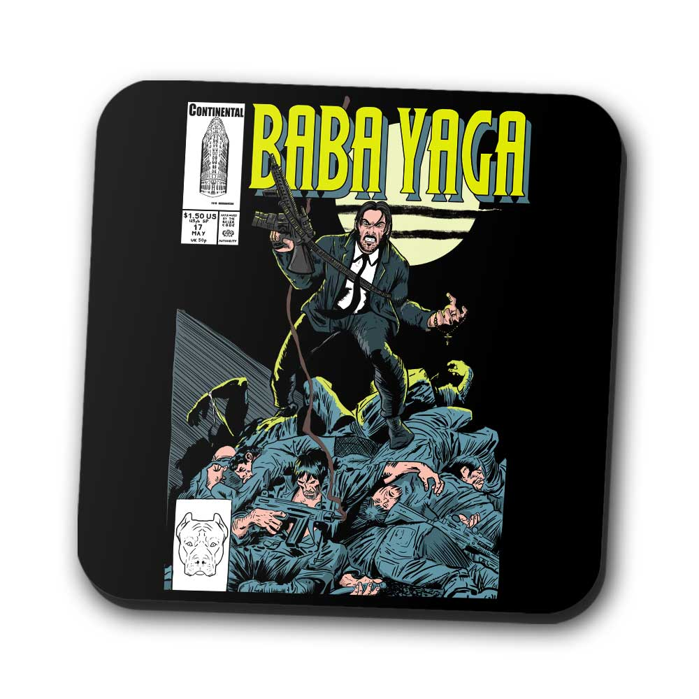 Baba Yaga Issue 1 - Coasters