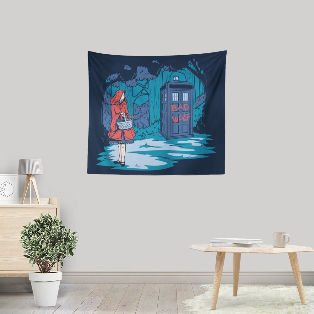 Bad Wolf - Wall Tapestry