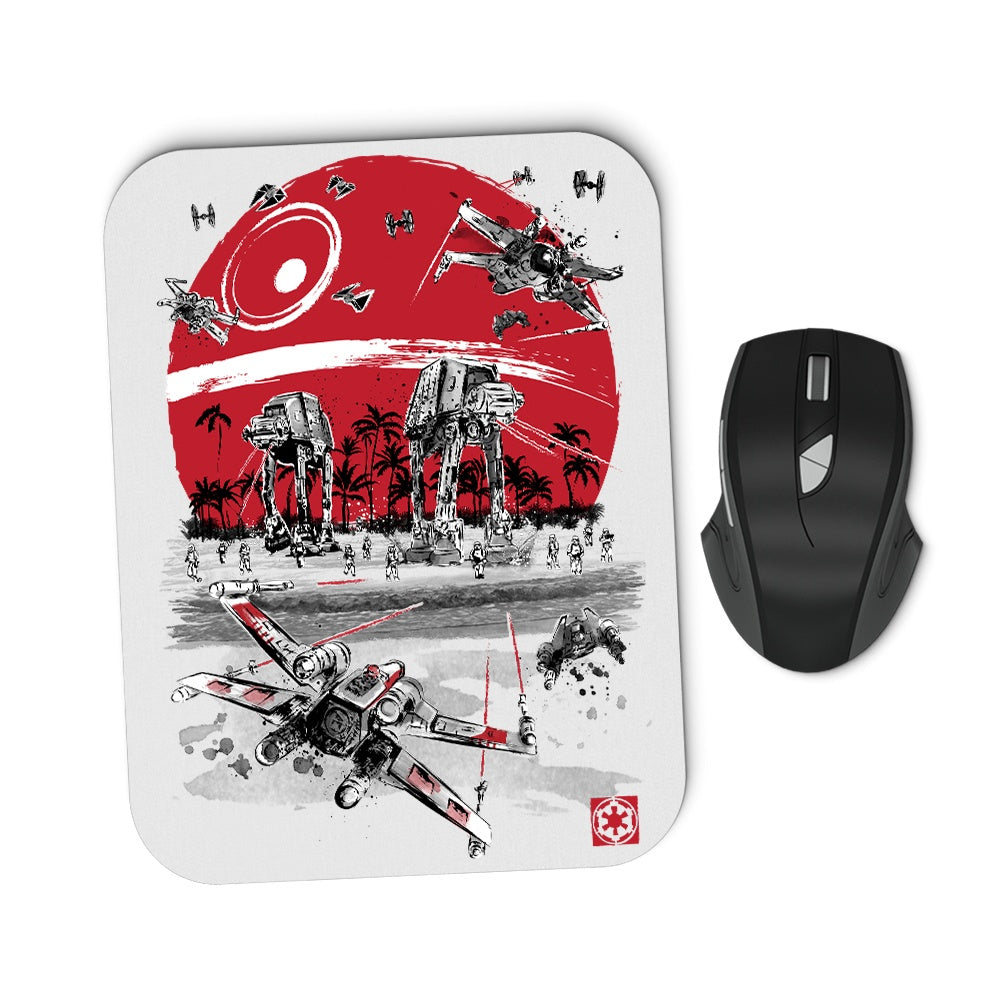 Battle on the Beach - Mousepad