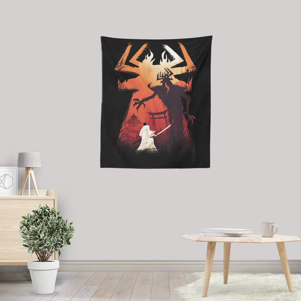 Battle the Darkness - Wall Tapestry
