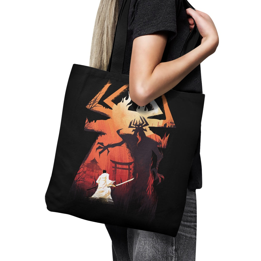 Battle the Darkness - Tote Bag