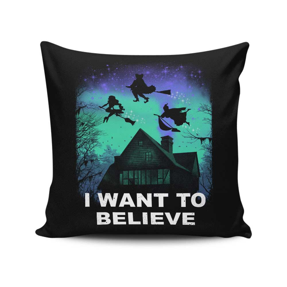 Believe in Magic - Throw Pillow