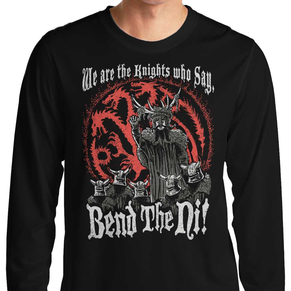 Bend the Ni (Alt) - Long Sleeve T-Shirt