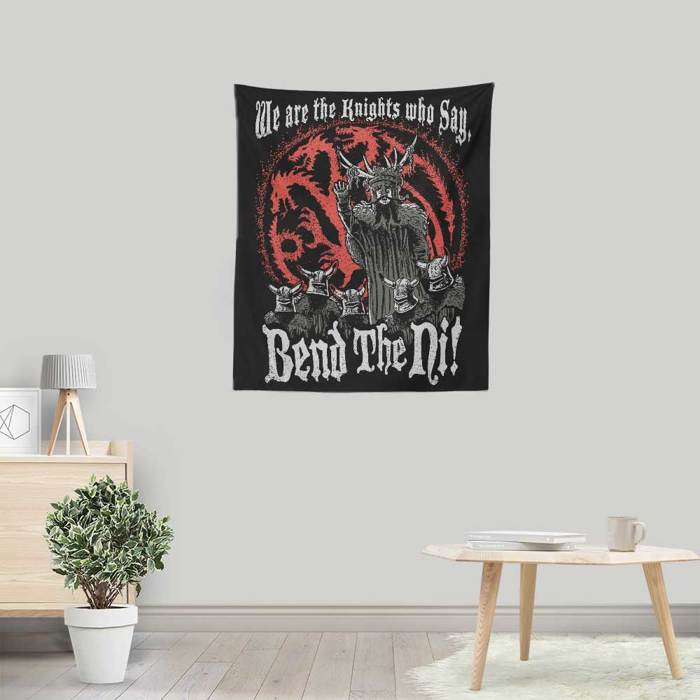 Bend the Ni (Alt) - Wall Tapestry