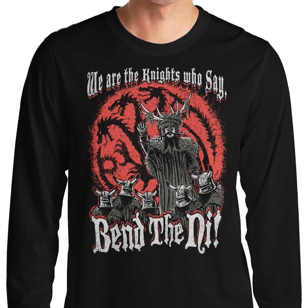 Bend the Ni - Long Sleeve T-Shirt