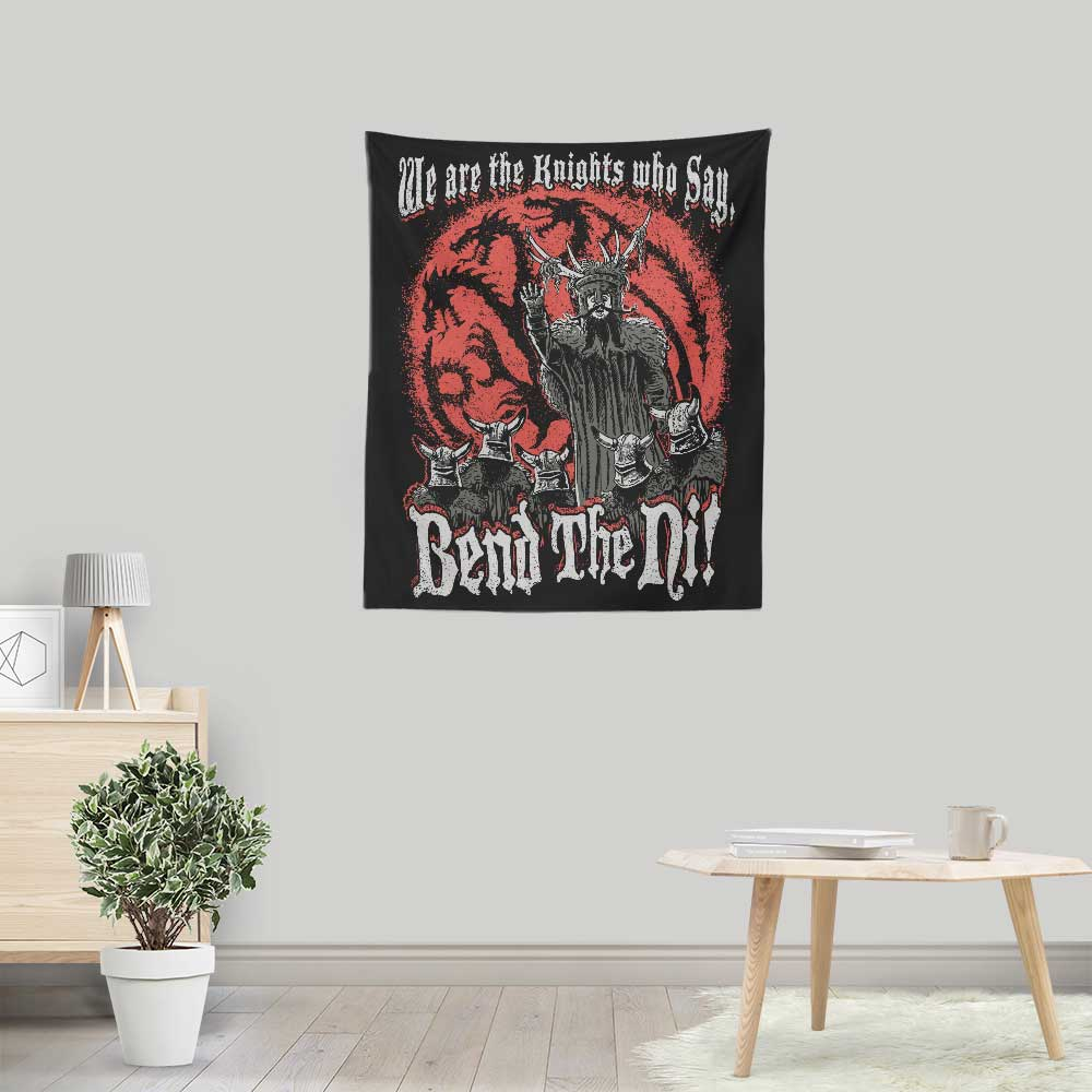 Bend the Ni - Wall Tapestry