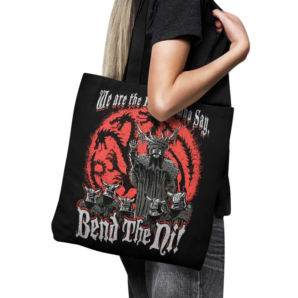 Bend the Ni - Tote Bag