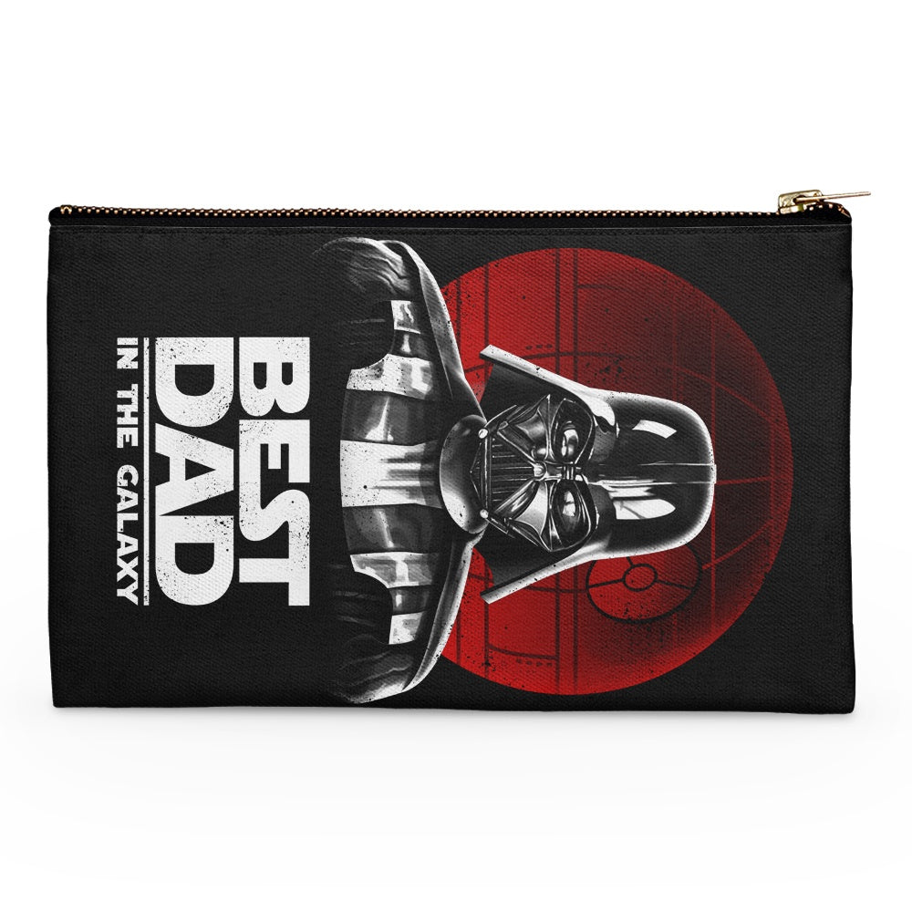 Best Dad in the Galaxy - Accessory Pouch