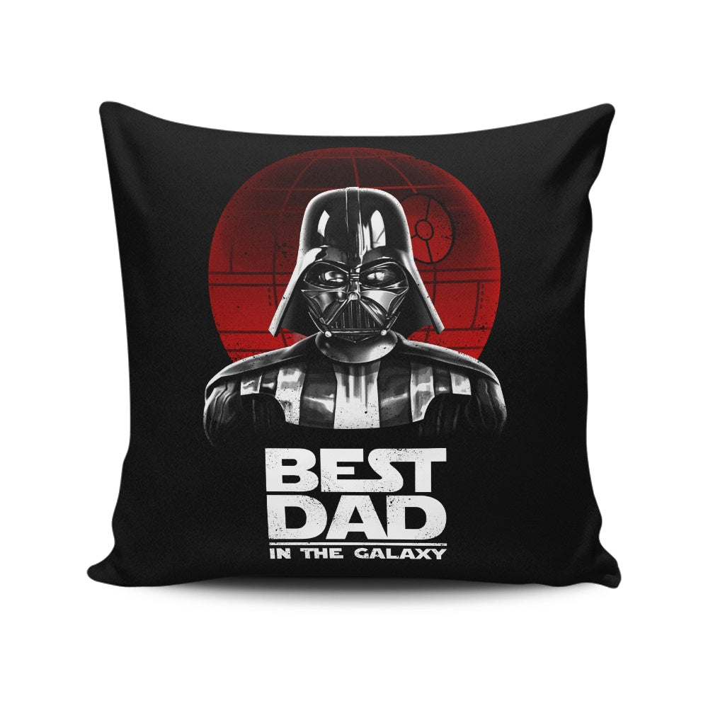 Best Dad in the Galaxy - Throw Pillow