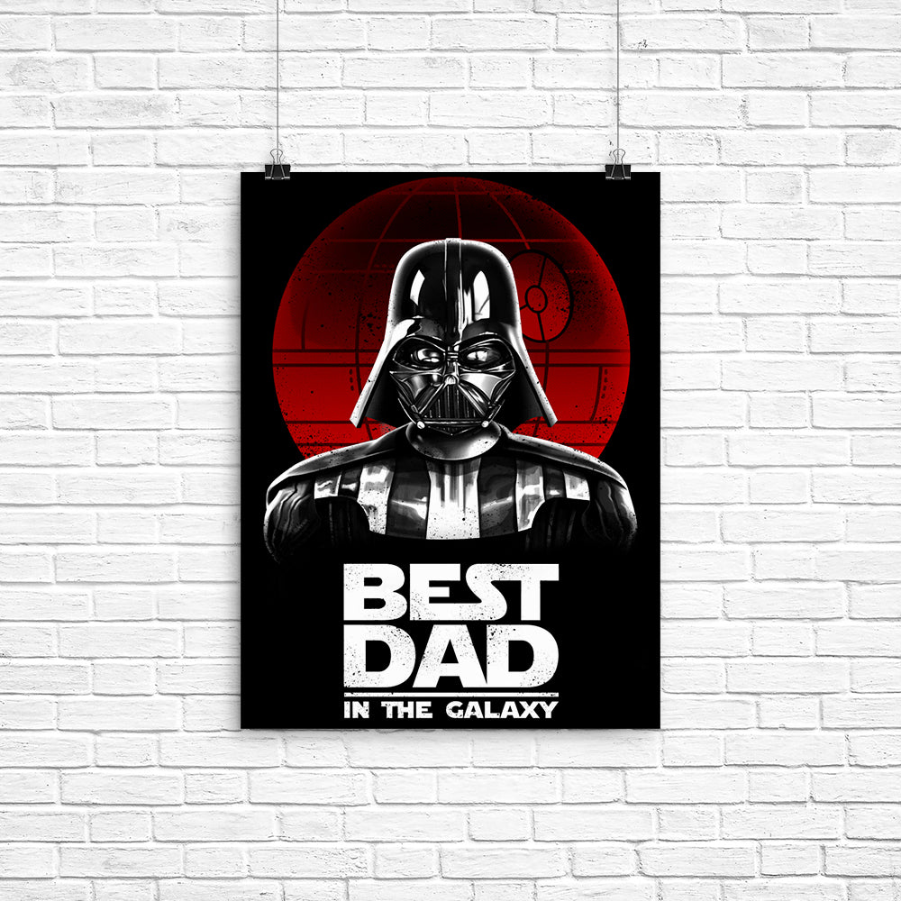 Best Dad in the Galaxy - Poster