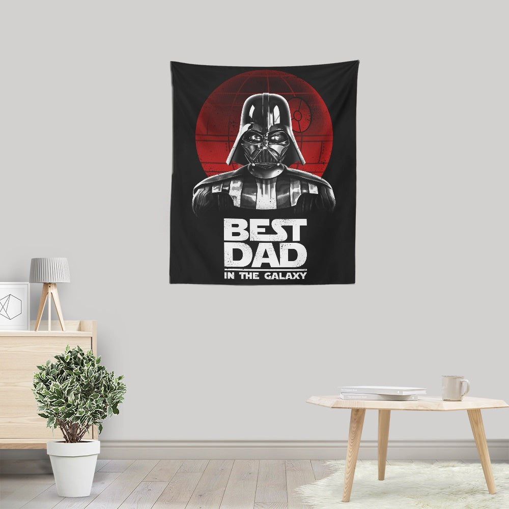 Best Dad in the Galaxy - Wall Tapestry