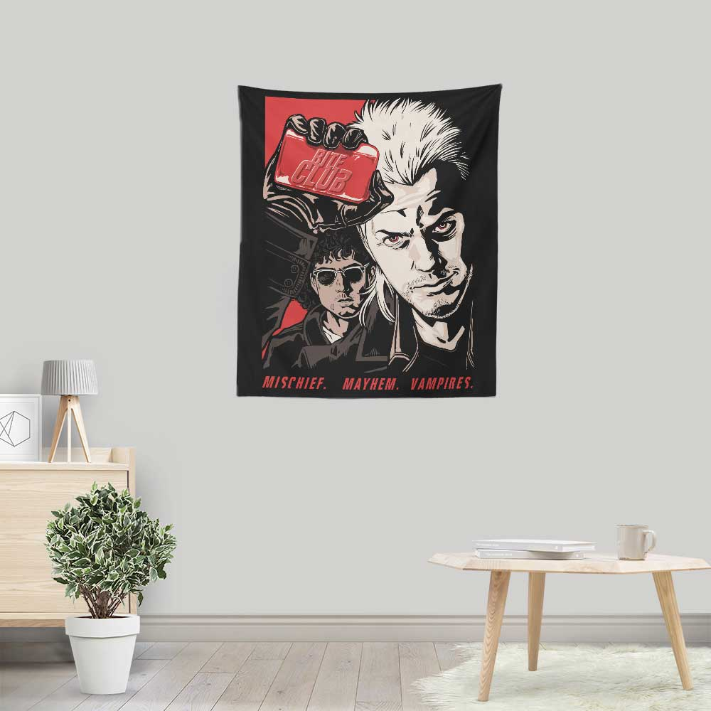 Bite Club - Wall Tapestry