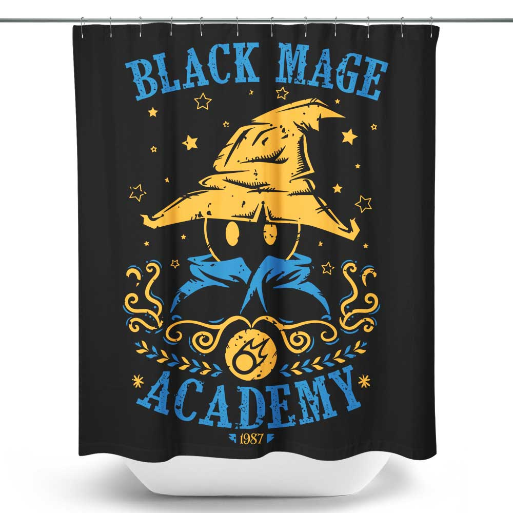 Black Mage Academy - Shower Curtain