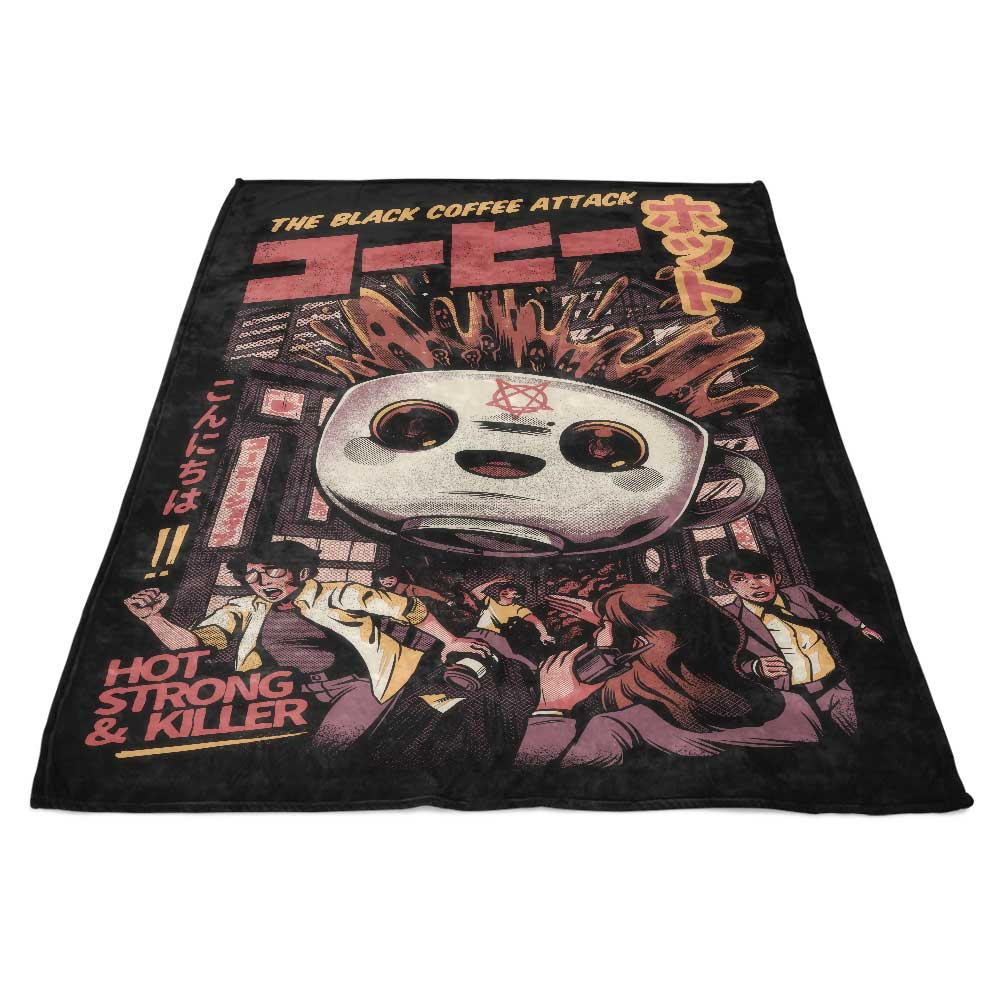 Black Magic Coffee - Fleece Blanket