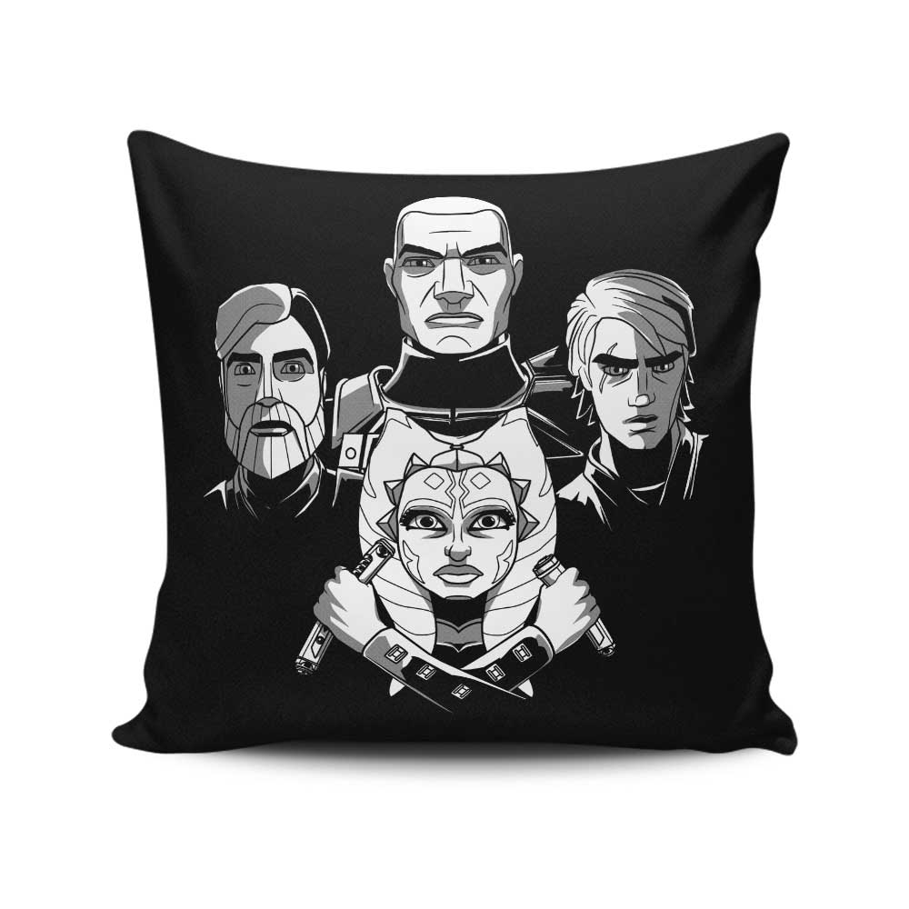 Bohemian Clones - Throw Pillow