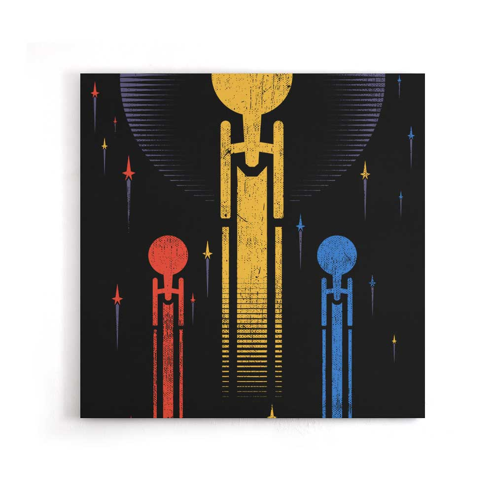 Boldly Go - Canvas Print