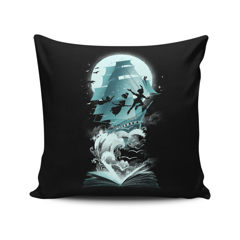 Book of Fantasy - Throw Pillow