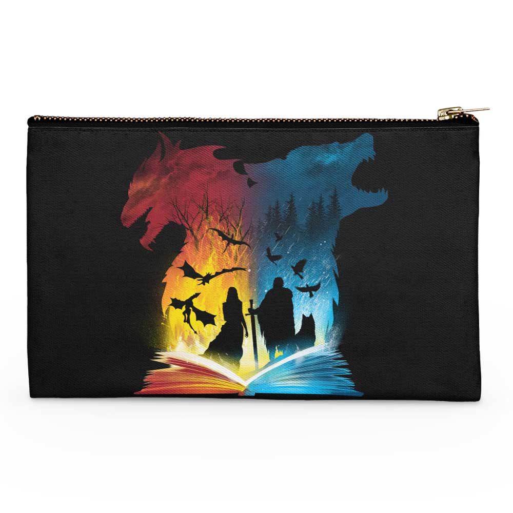 Book of Fire and Ice - Accessory Pouch