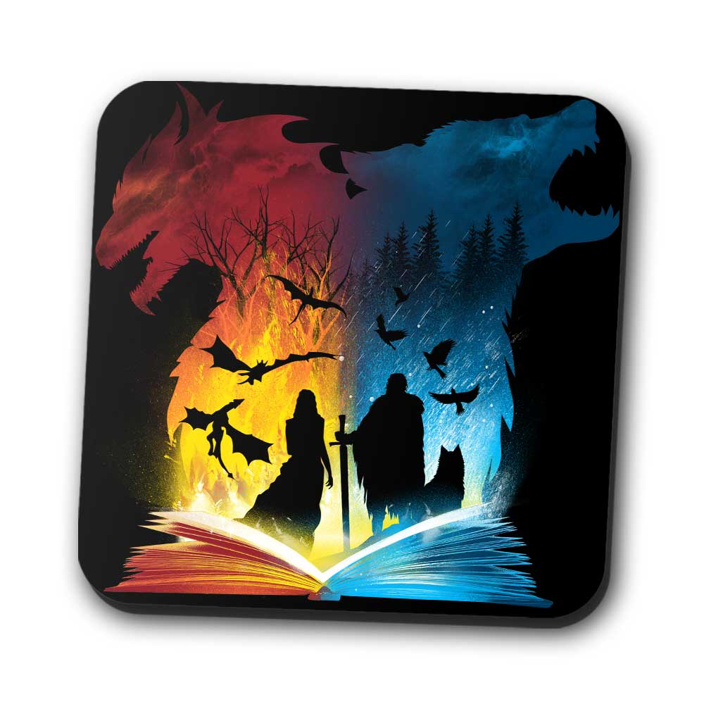 Book of Fire and Ice - Coasters