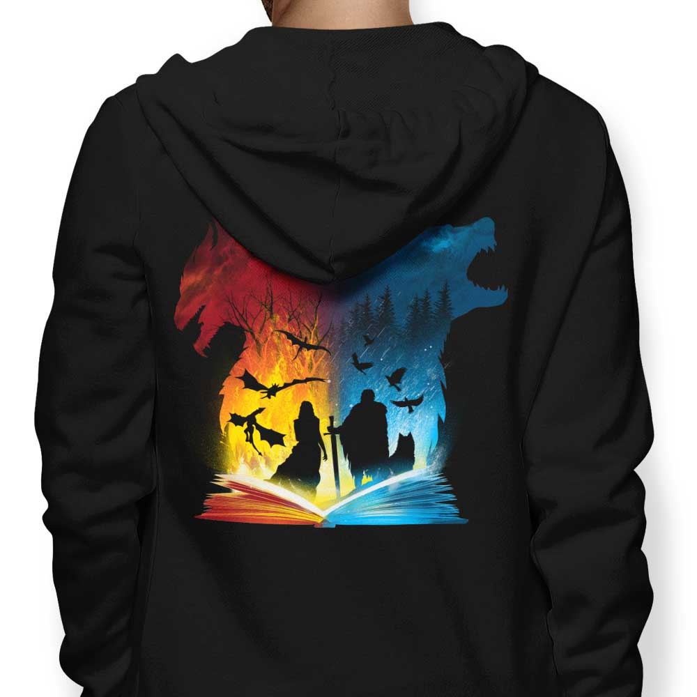 Book of Fire and Ice - Hoodie