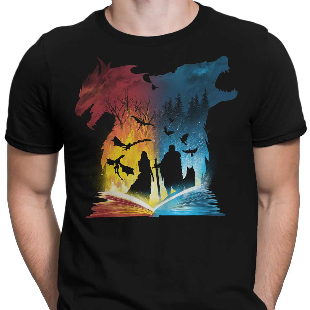 Book of Fire and Ice - Men's Apparel