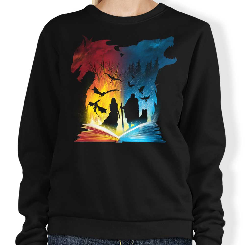 Book of Fire and Ice - Sweatshirt
