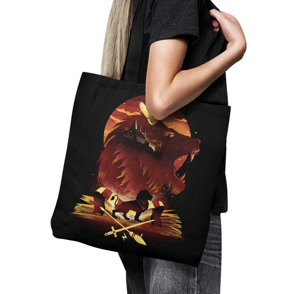 Book of Lions - Tote Bag