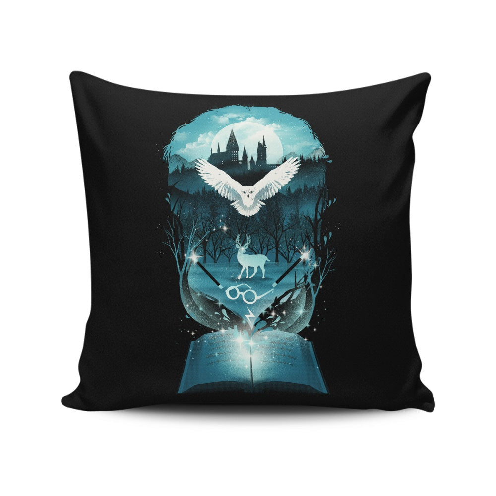 Book of Magic - Throw Pillow