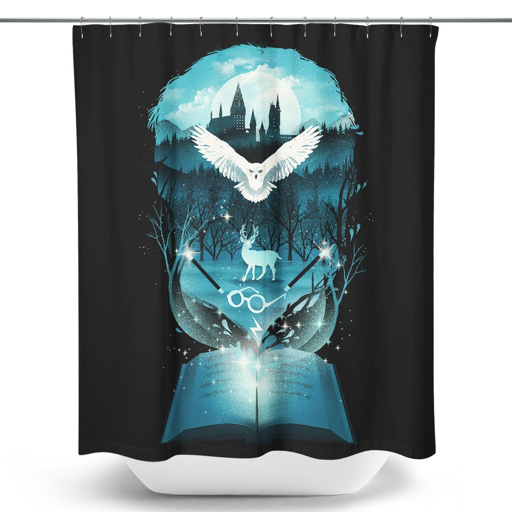 Book of Magic - Shower Curtain