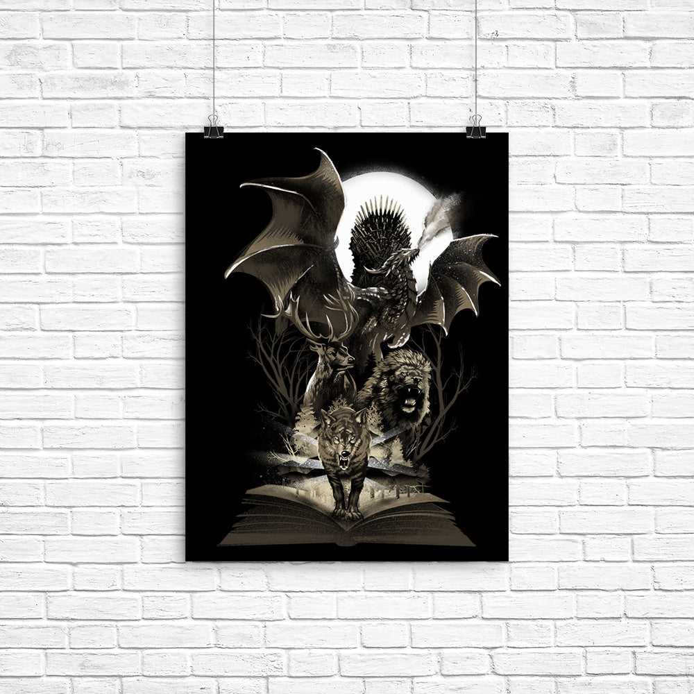 Book of Thrones - Poster