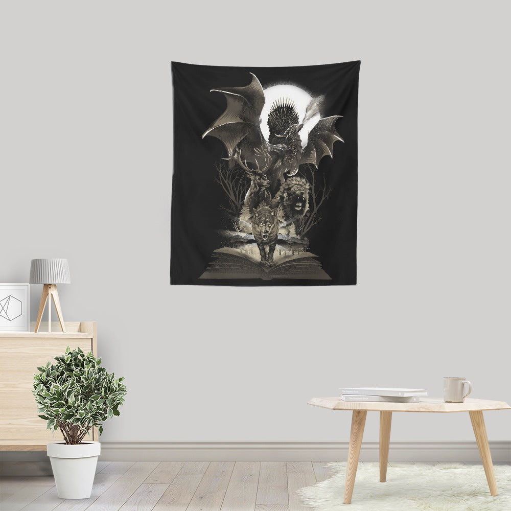 Book of Thrones - Wall Tapestry