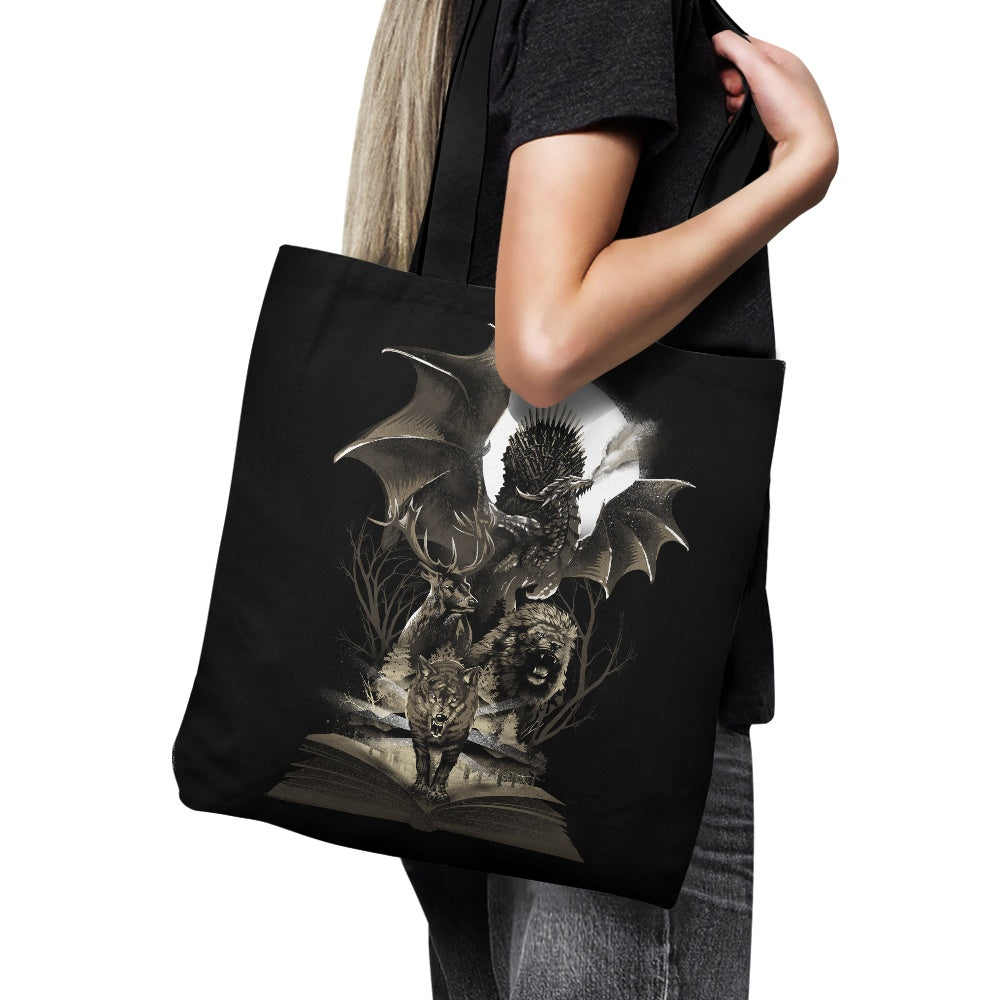 Book of Thrones - Tote Bag