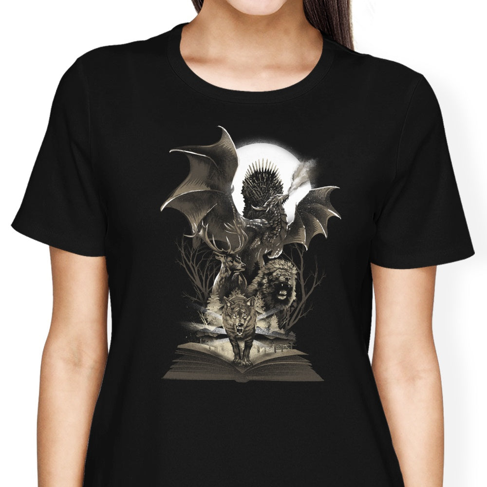 Book of Thrones - Game of Thrones T-Shirts