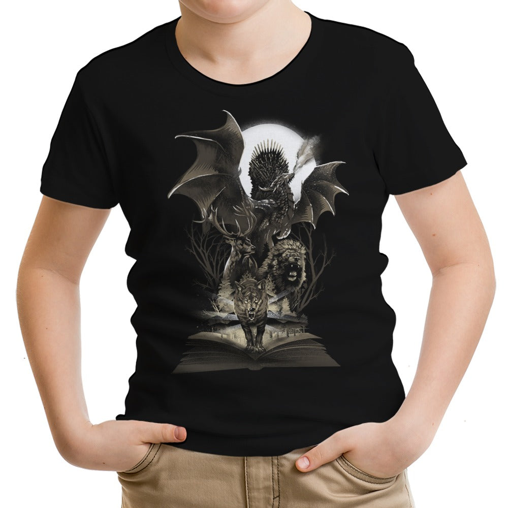 Book of Thrones - Youth Apparel