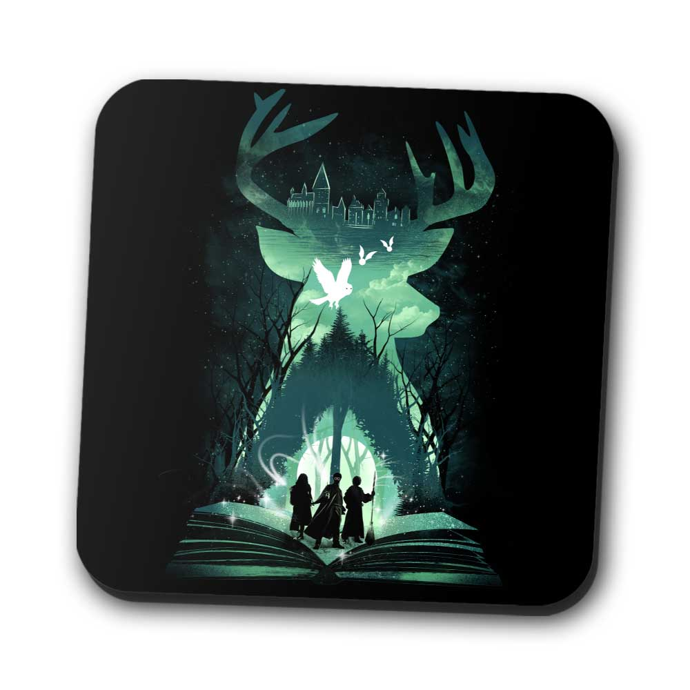 Book of Witchcraft and Wizardry - Coasters