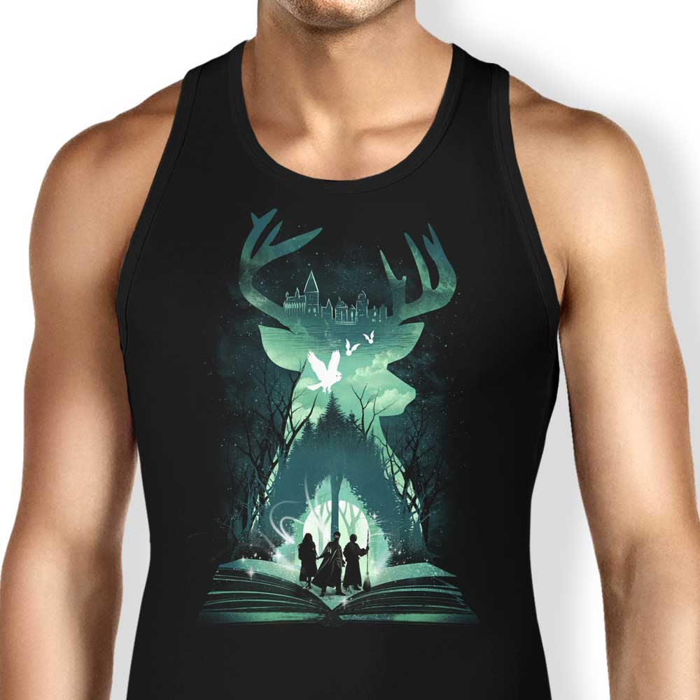 Book of Witchcraft and Wizardry - Tank Top