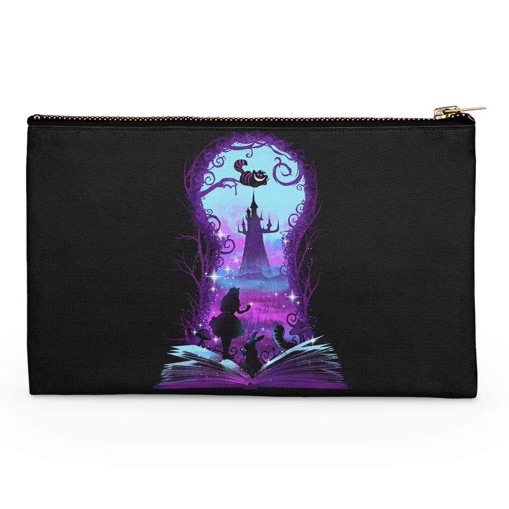 Book of Wonderland (Alt) - Accessory Pouch
