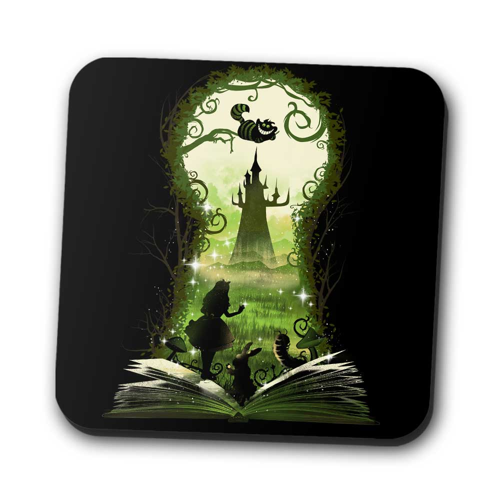 Book of Wonderland - Coasters
