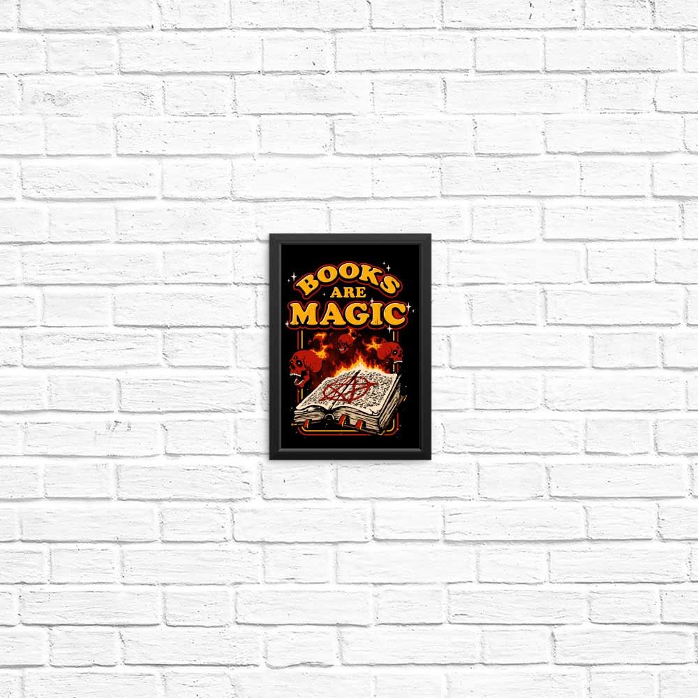 Books are Magic - Posters & Prints