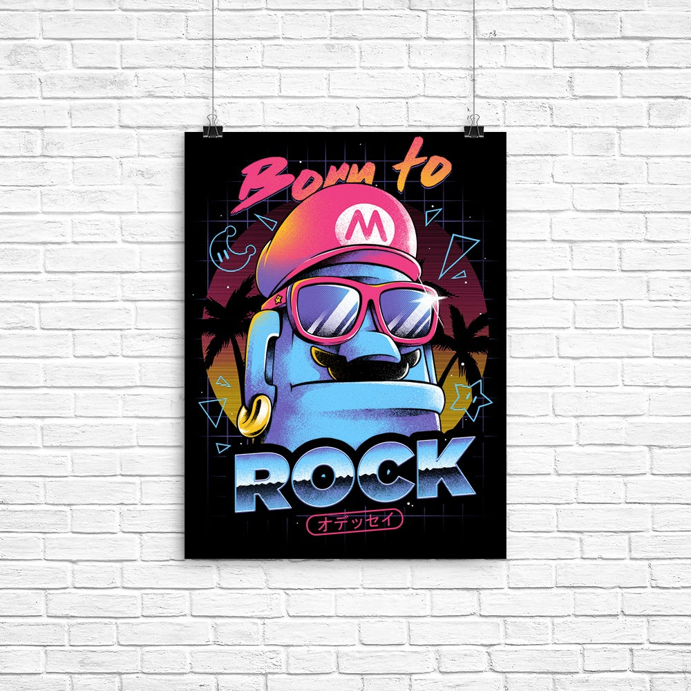 Born to Rock - Poster