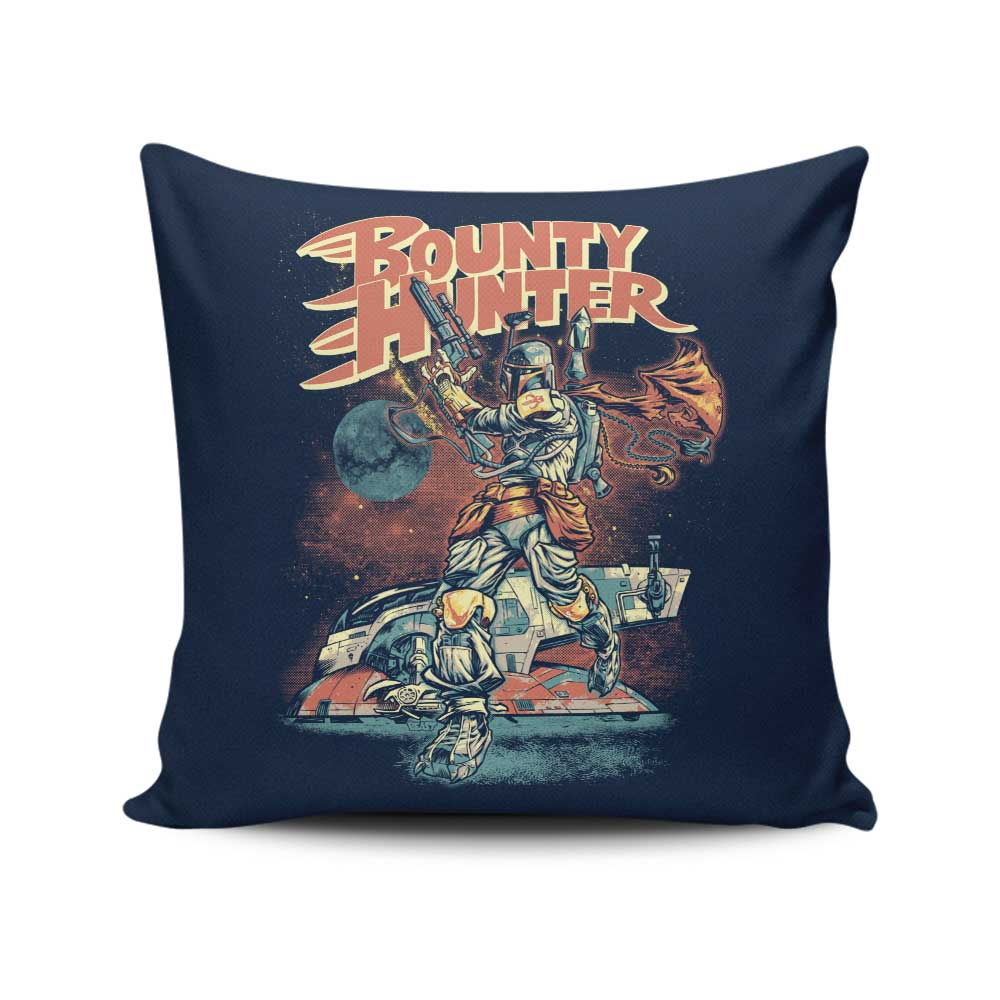 Bounty Hunter - Throw Pillow