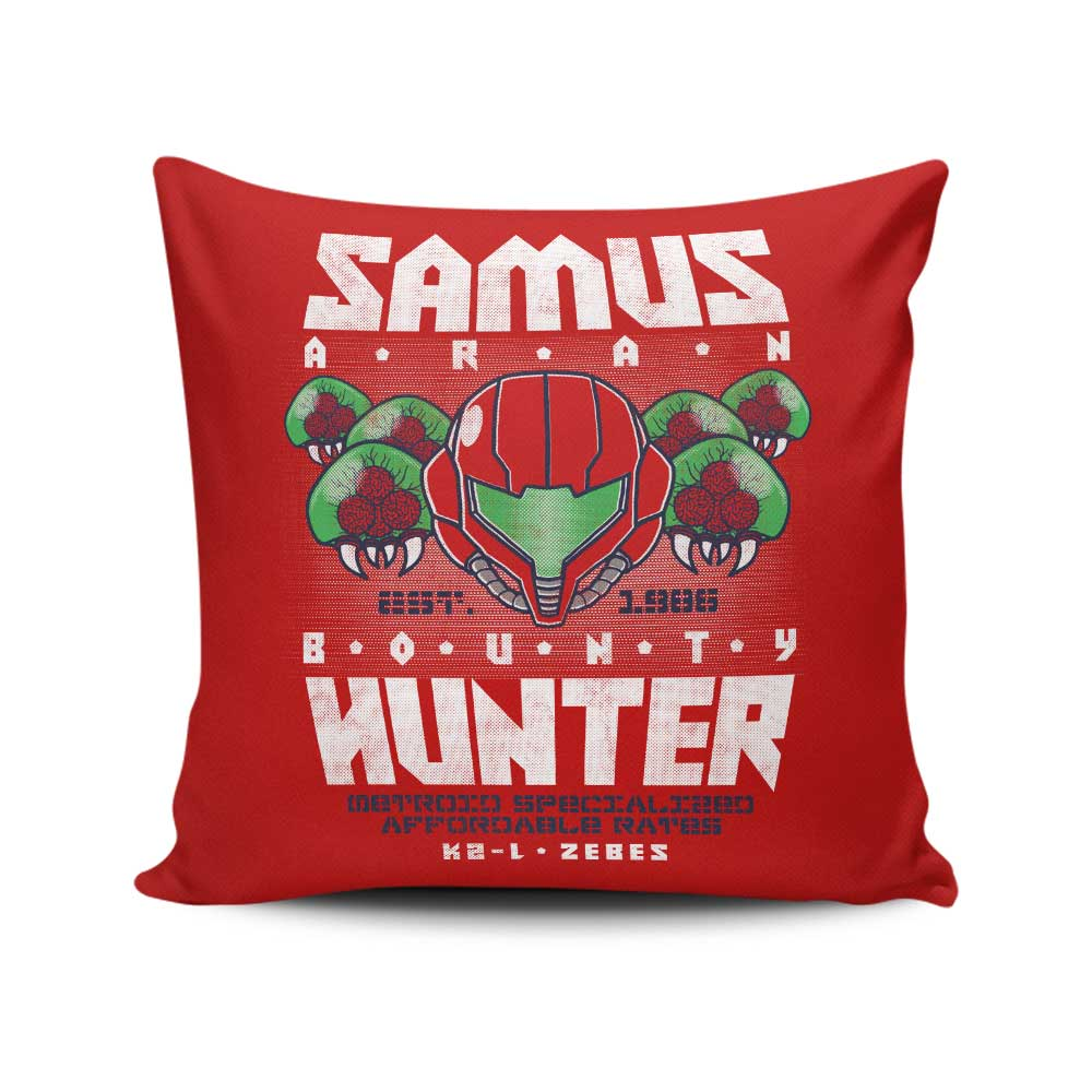Bounty Hunting Services - Throw Pillow