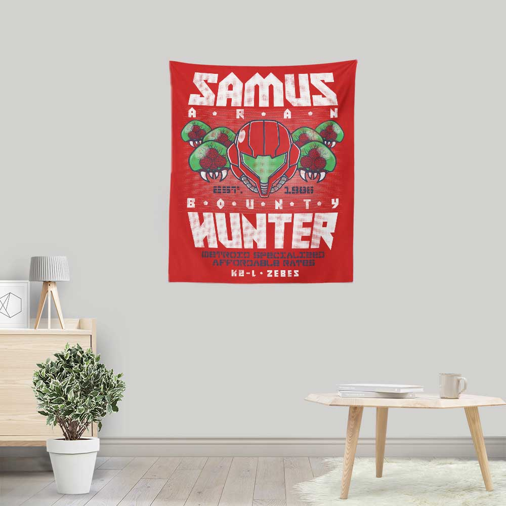 Bounty Hunting Services - Wall Tapestry